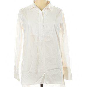 3/$40 ShineStar White Long Sleeve Blouse XL